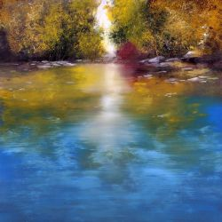 "Autumn light 30""x30"" - Sold"